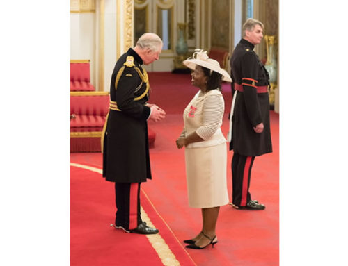 MBE for Olive Strachan